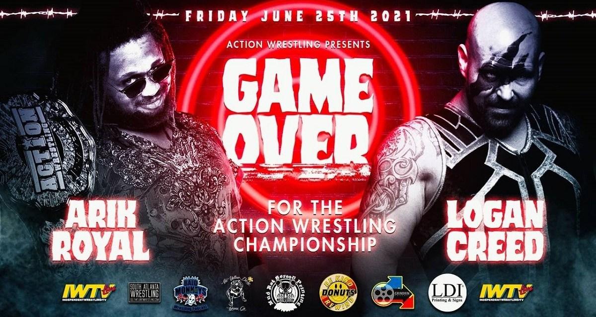 ACTION Wrestling Game Over (June 25, 2021)