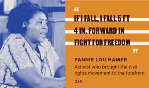 Fannie Lou Hamer Quote