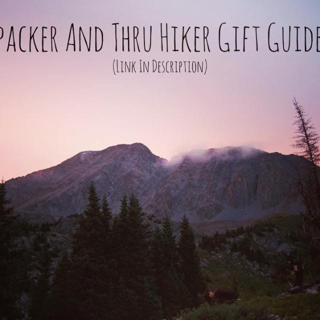 I just posted a new 2017 thru hiker gift guidehellip