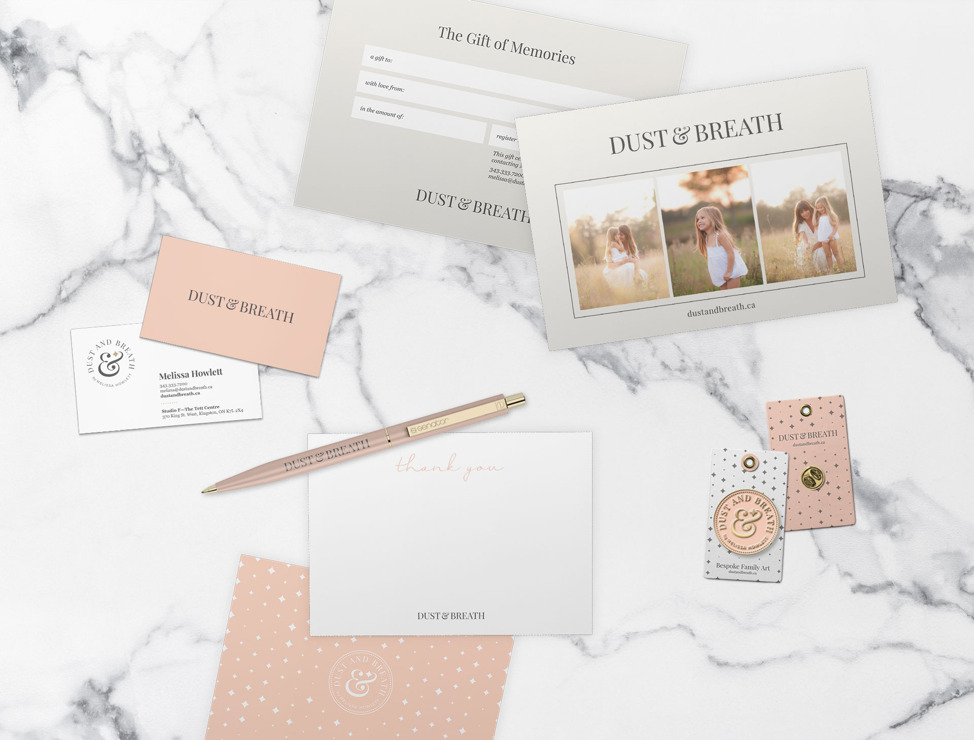 dust and breath stationery