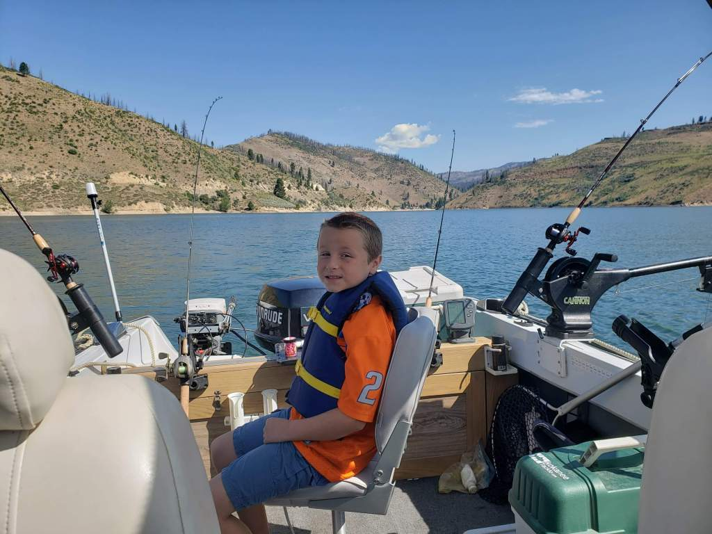 One of our Younger Anglers