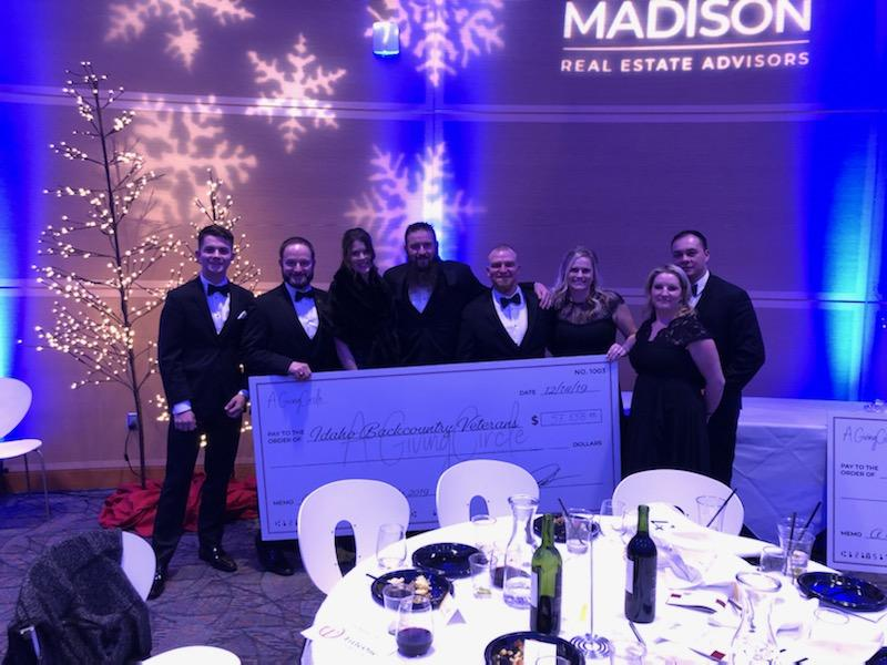 IBV Board Members and Guests with our Big Check!