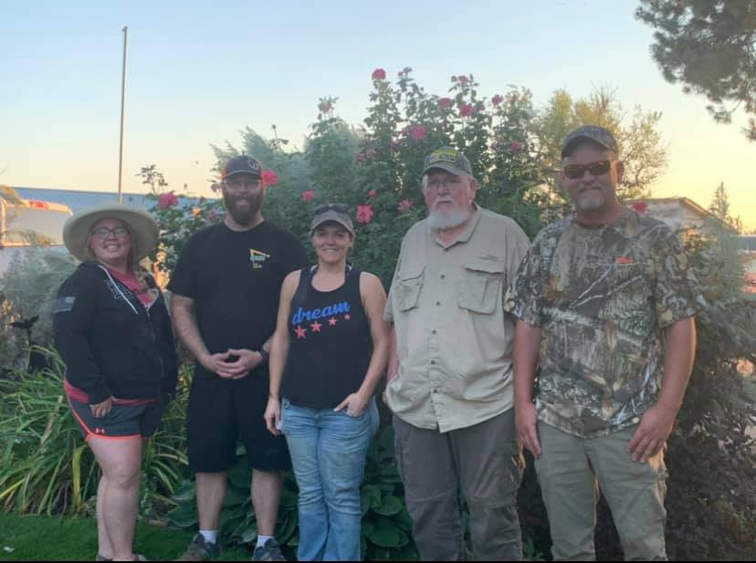 Dove Hunt with the Vets