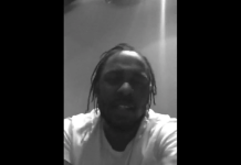 Kendrick Lamar Drunk In Studio telling Lil Wayne Not To Retire Video , Video of Kendrick Lamar Drunk In The studio