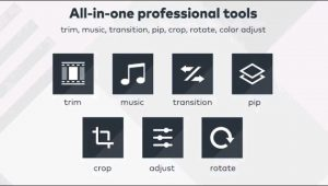 FilmoraGo wondershare Product video editing apps no watermark