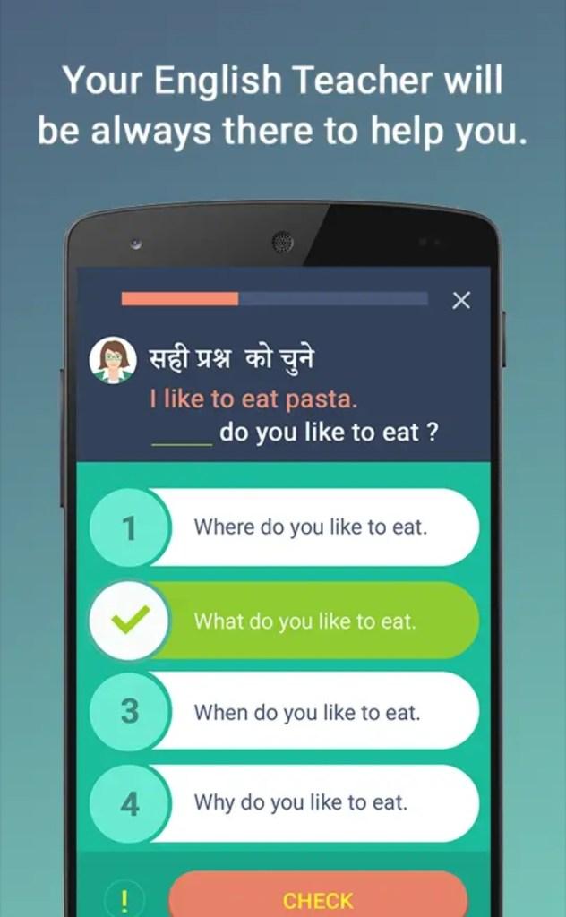 Namaste english- learn english from hindi