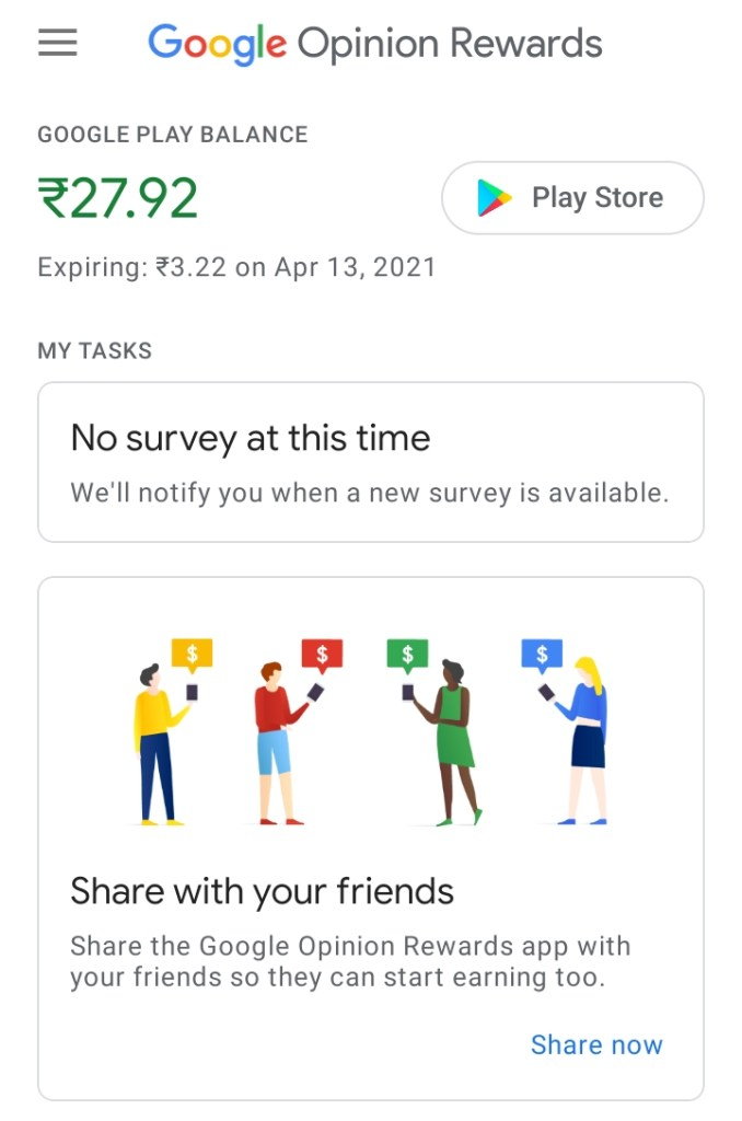 Earn money by completing surveys