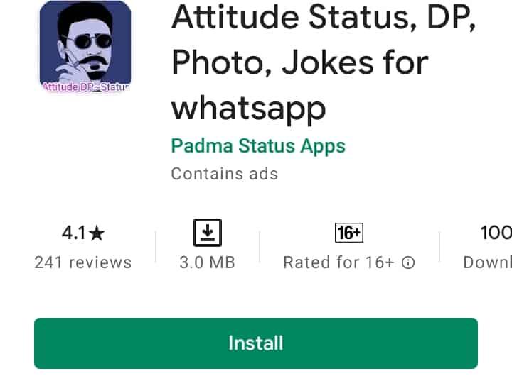 Attitude Dp, status, photo, jokes for whatsapp