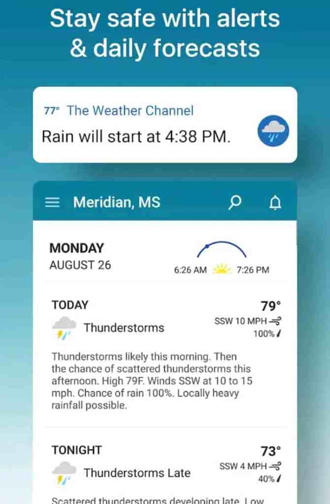 Weather forecast and Snow Radar ( Best weather app for Android 2021)