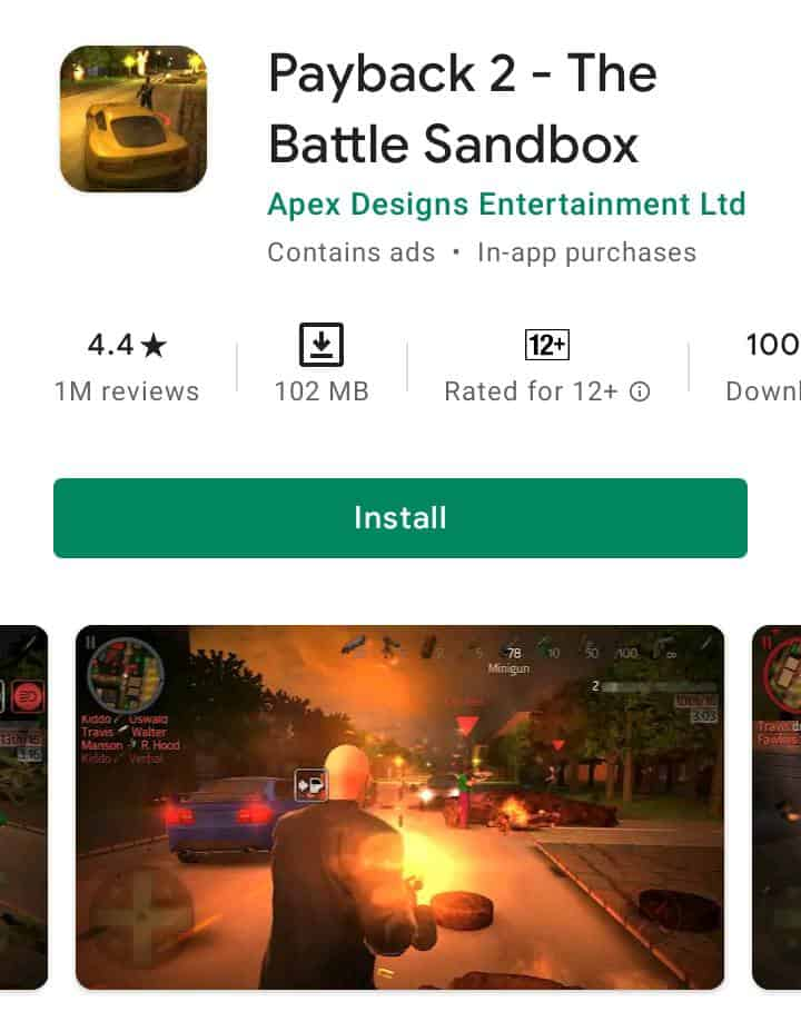 Gta like game for Android