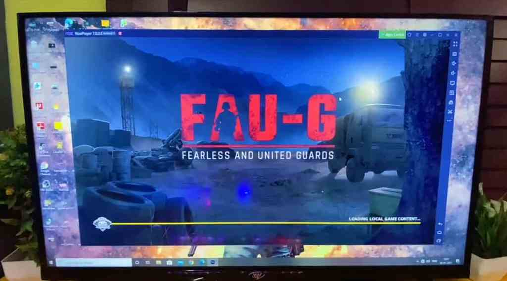 How to play Fauji in pc