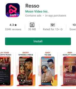 Resso app