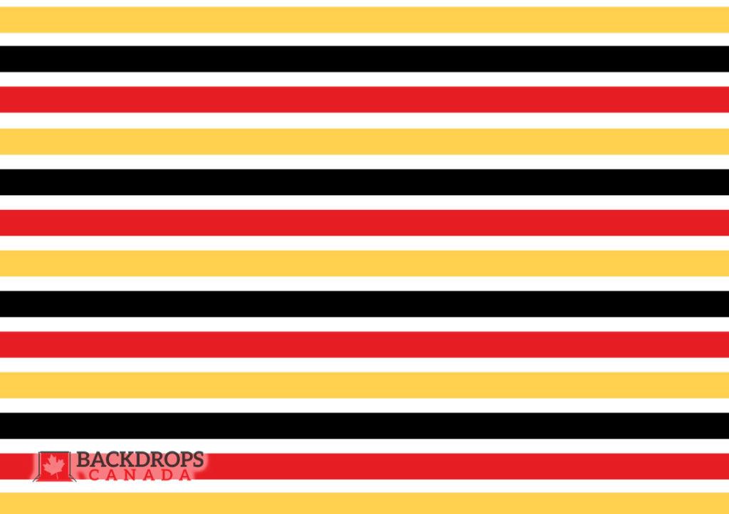 Mickey Stripes Backdrops Canada