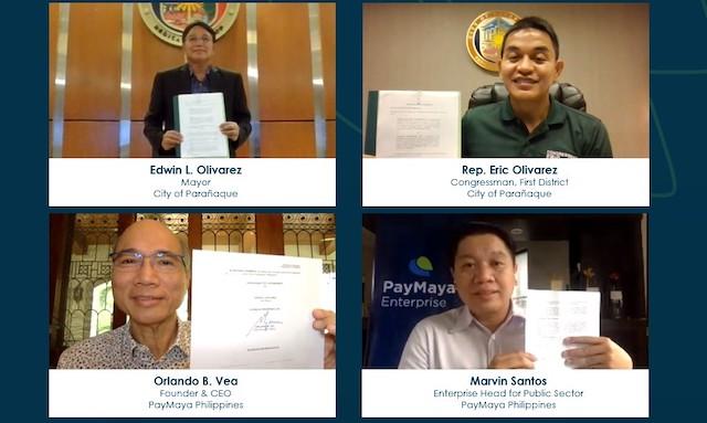 Paranaque - PayMaya Key Officials