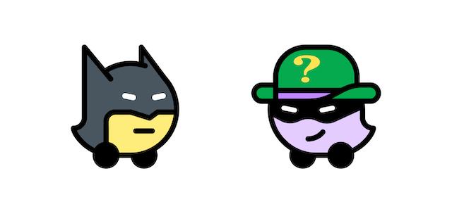 Batman The Riddler Waze
