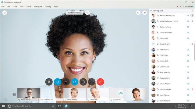 Cisco Webex Desktop