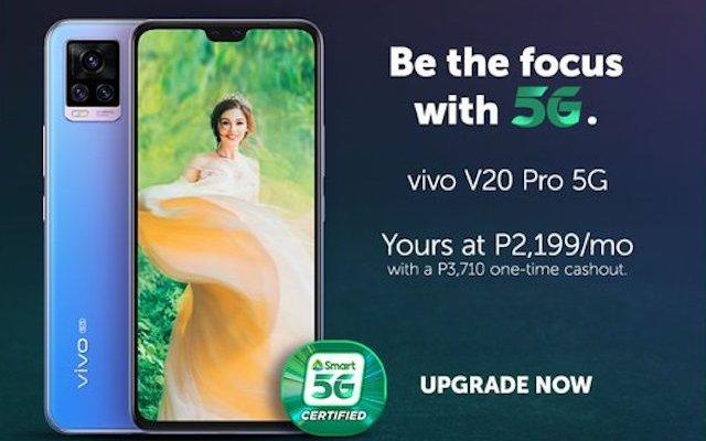 Smart vivo V20 5G Pro