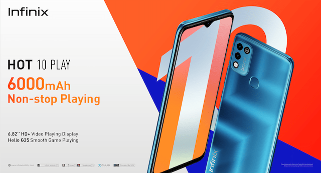 Infinix Hot 10 Play launched in the Philippines – Back End News