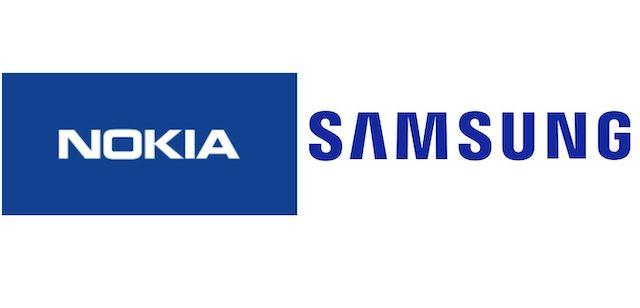 Nokia Samsung Logos