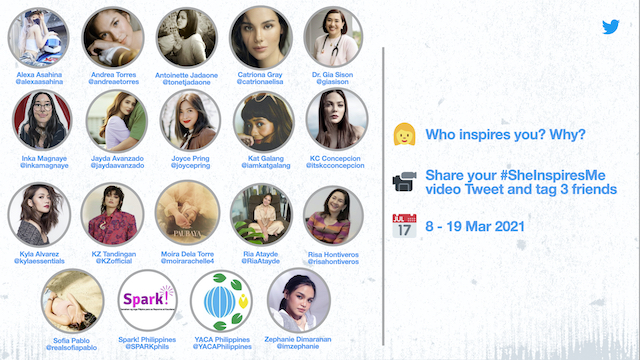 Twitter International Women's Day 2021