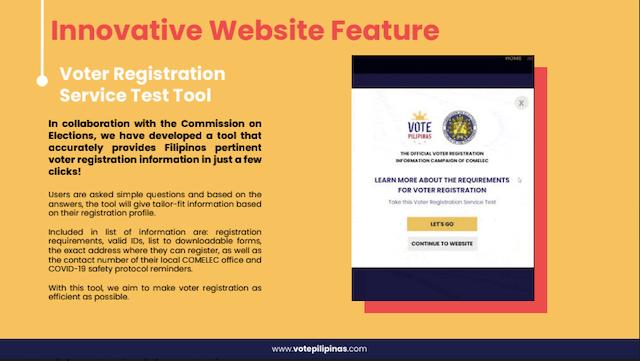 Vote Pilpinas Comelec Voter Registration Test