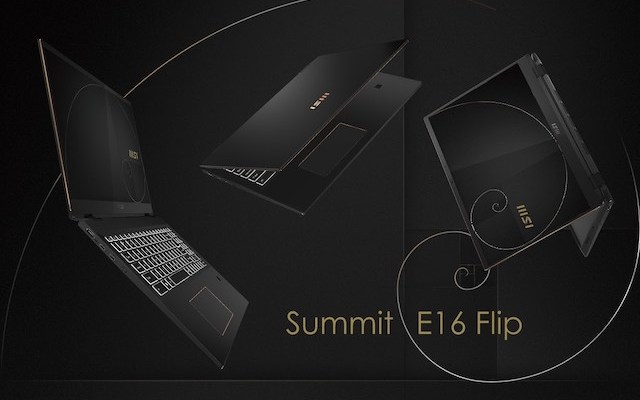 MSI Summit E16 Flip