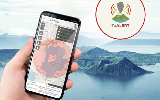 Teralogix TaAlert Taal Volcano Phivolcs