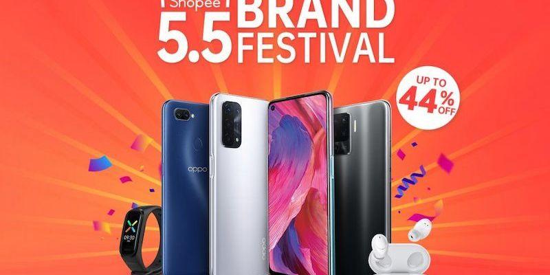 Oppo x Shopee Brand Festival