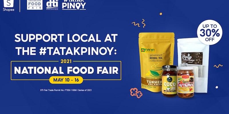 Shopee DTI National Food Fair