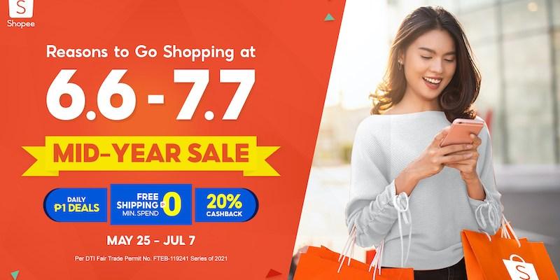 Shopee 6.6 - 7.7 Mid-Year Sale