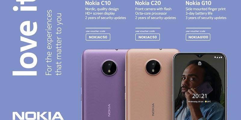 Nokia C10, C20, G10 Shopee