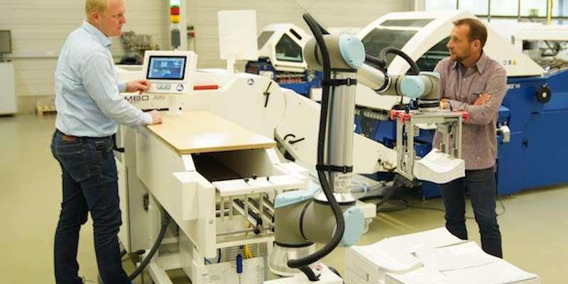 Universal Robots UR10e MBO Postpress Solutions