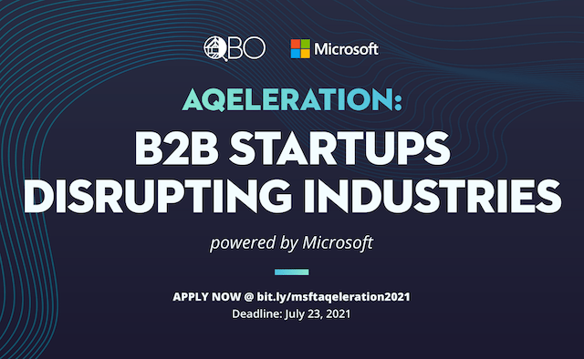 AQELERATION Microsoft Philippines X QBO Innovation Hub