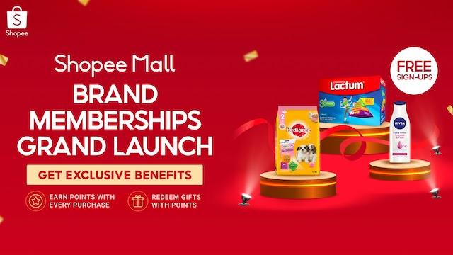 Shopee Brand Memberships Program
