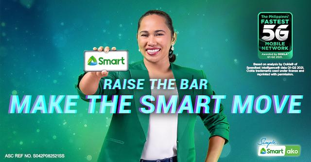 Hidilyn Diaz x Smart Communications