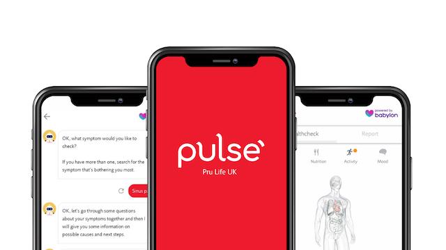Pru Life UK's Pulse Health App