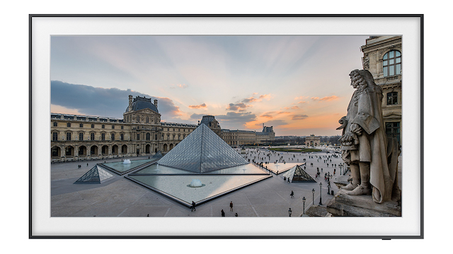 Samsung The Frame x The Louvre Partnership