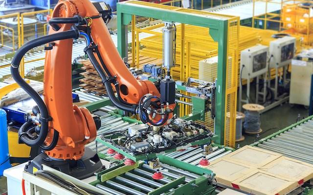 Schneider Electric Manufacturing Industrial Robots