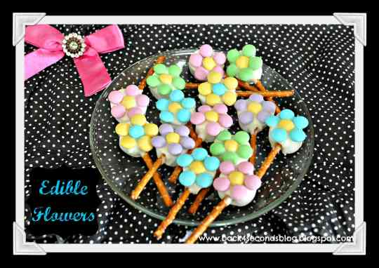 Edible Flowers by Back For Seconds   #flowers #diycandyflowers