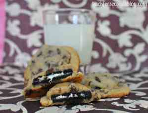 Oreo Cookie Dough Cookies