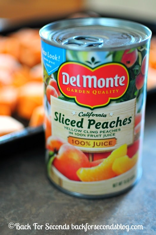Recipes using canned peaches