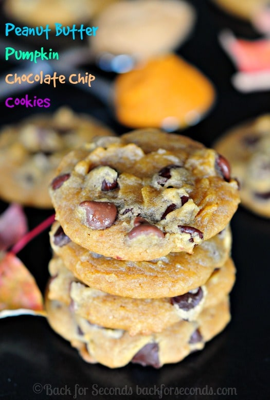 BEST Soft and Chewy Pumpkin Chocolate Chip Cookies - Seriously! #fallbaking #pumpkindessert