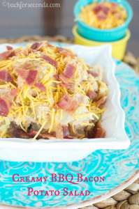 Creamy BBQ Bacon Potato Salad