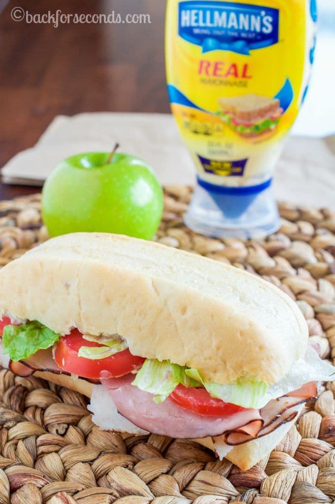 Ham and Turkey Deluxe Sandwich - a Lunchbox Favorite!_-3