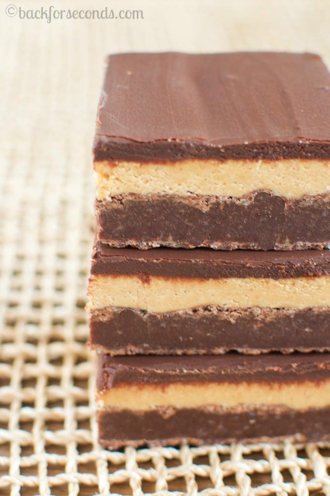 INCREDIBLE Peanut Butter Truffle Brownies