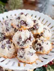 Easy Chocolate Chip Macaroons Recipe