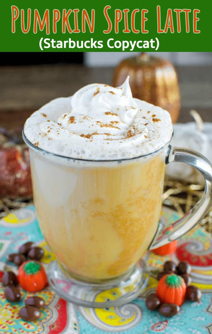Pumpkin Spice Latte collage photo