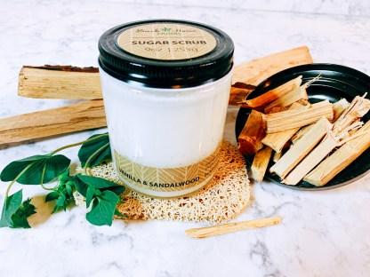 Vanilla & Sandalwood Sugar Scrub