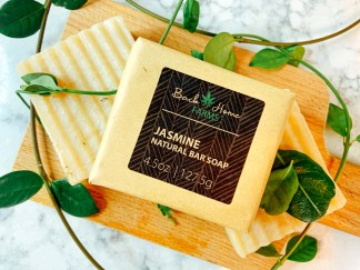 Jasmine Natural Bar Soap