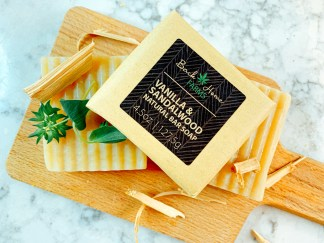 Vanilla & Sandalwood Natural Bar Soap